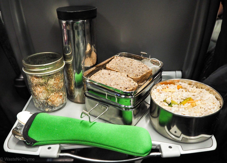 meal prep nachhaltig zugfahrt