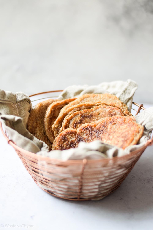 Brot ohne Hefe aus der Pfanne
