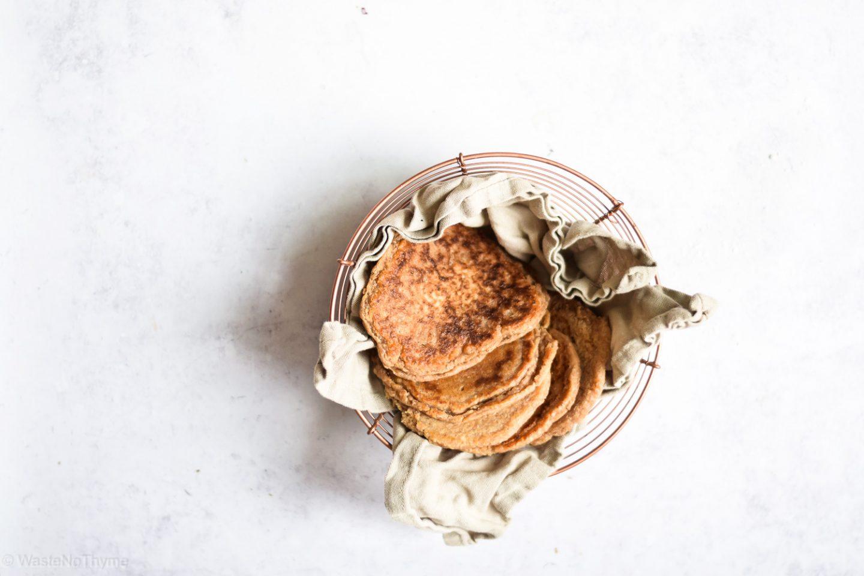 glutenfreies Pfannenbrot aus Buchweizen