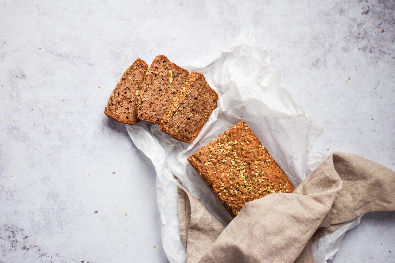 Buchweizen Brot glutenfrei