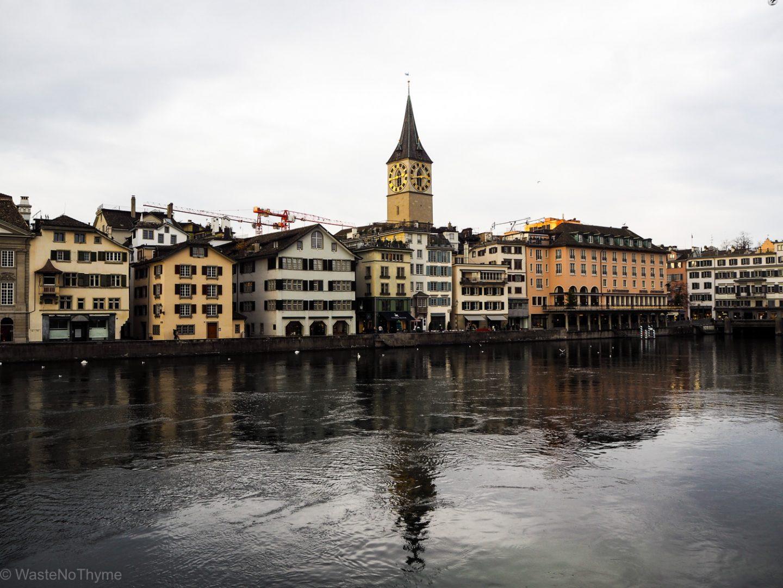 nachhaltig nach Zürich reisen
