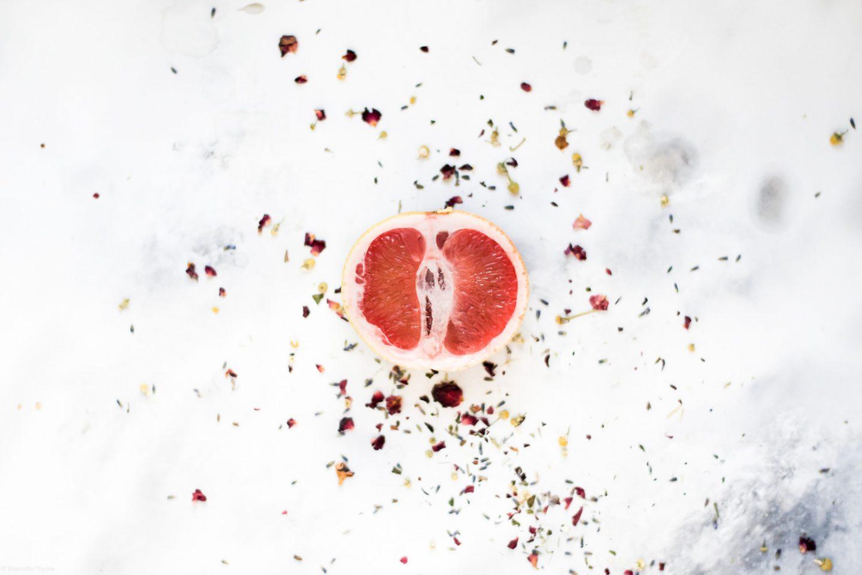 weibliche Menstruation