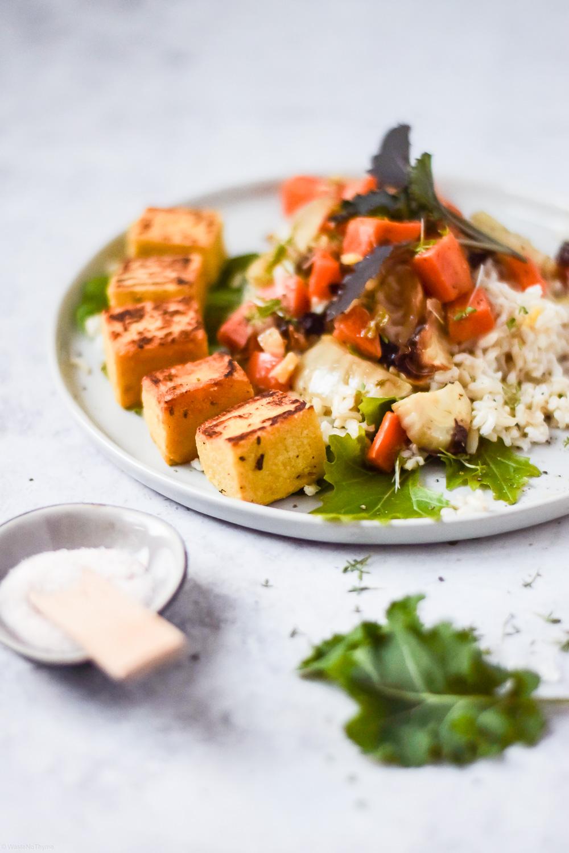 tofu aus kichererbsen