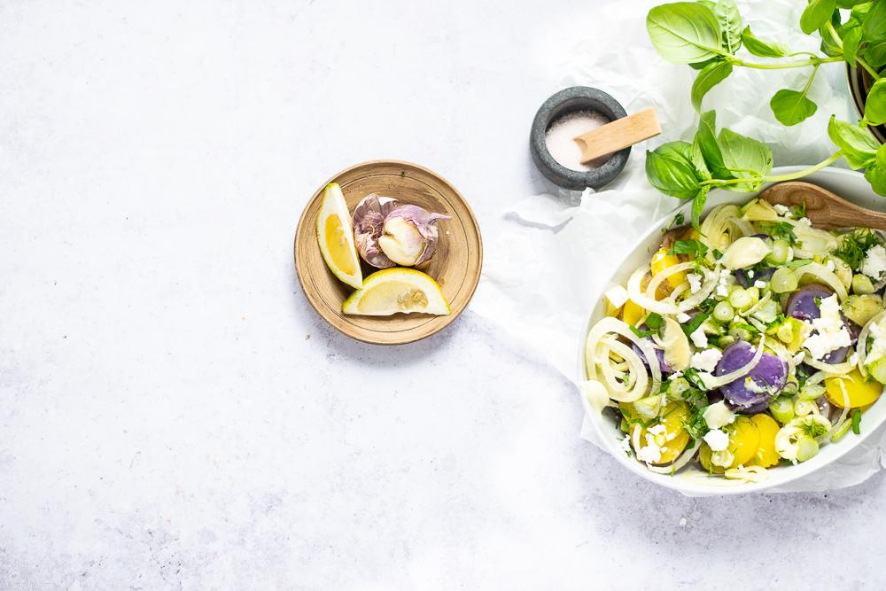 Lila Laune Kartoffelsalat