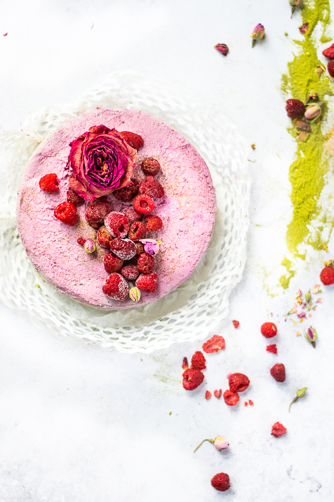 Cashew Kokos Cheesecake vegan
