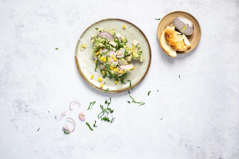 chicken salad vegan